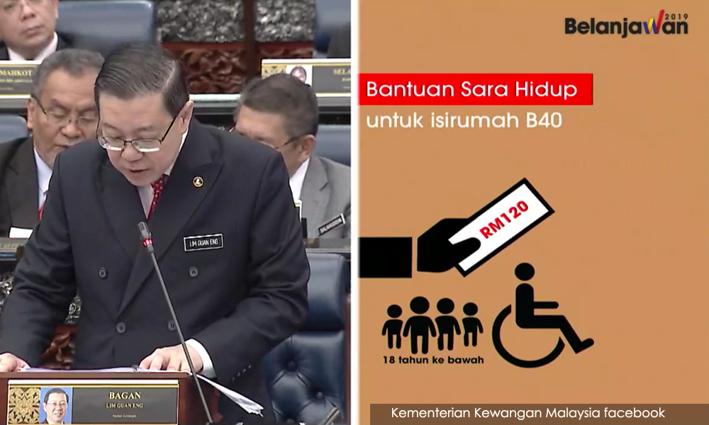 Bantuan Sara Hidup RM500 hingga RM1,000
